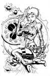 Lady Mechanika inks