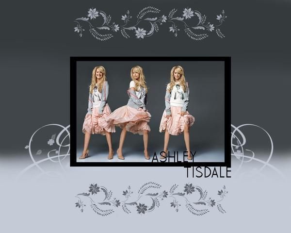 Ashley Tisdale Wallpaper by HiKaRii90