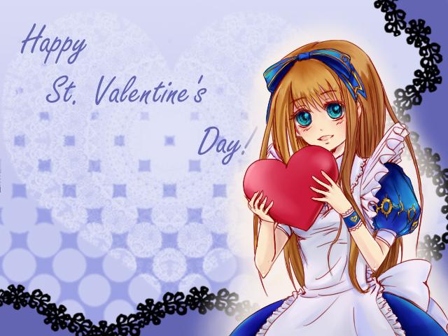 A Valentine card 4 U by LaFoxtriel