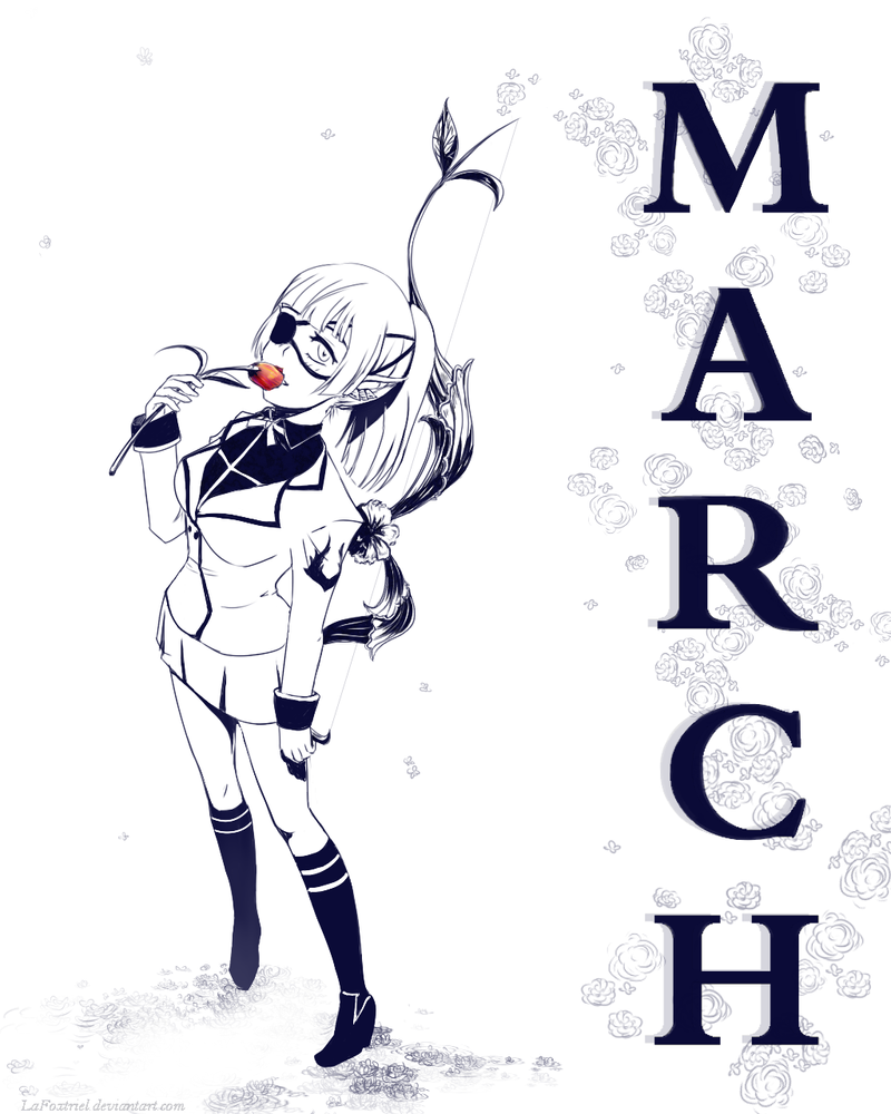 March the 8th by LaFoxtriel