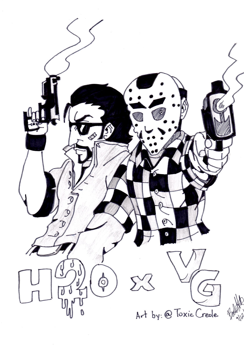 H20 Delirious x VanossGaming  H20 Delirious Drawing