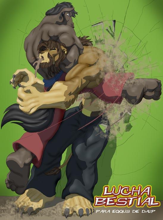 Beast Battle by Ohblon