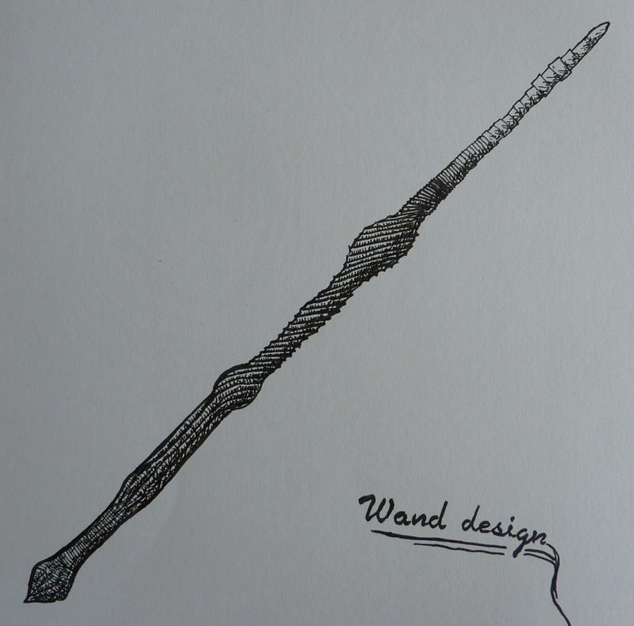 Wand Design- Harry Potter by eatingmoonlight on DeviantArt