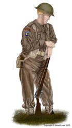 British Infantry c1944