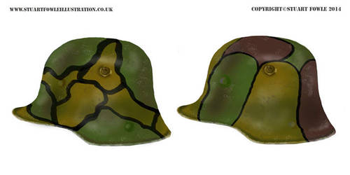 WW1 German Helmets