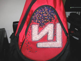 WIP - NIN Inspired Bead Embroidery - Mazuir Ross by MazuirRoss