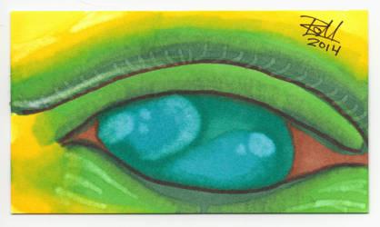 Hulk Eye - Mazuir Ross by MazuirRoss