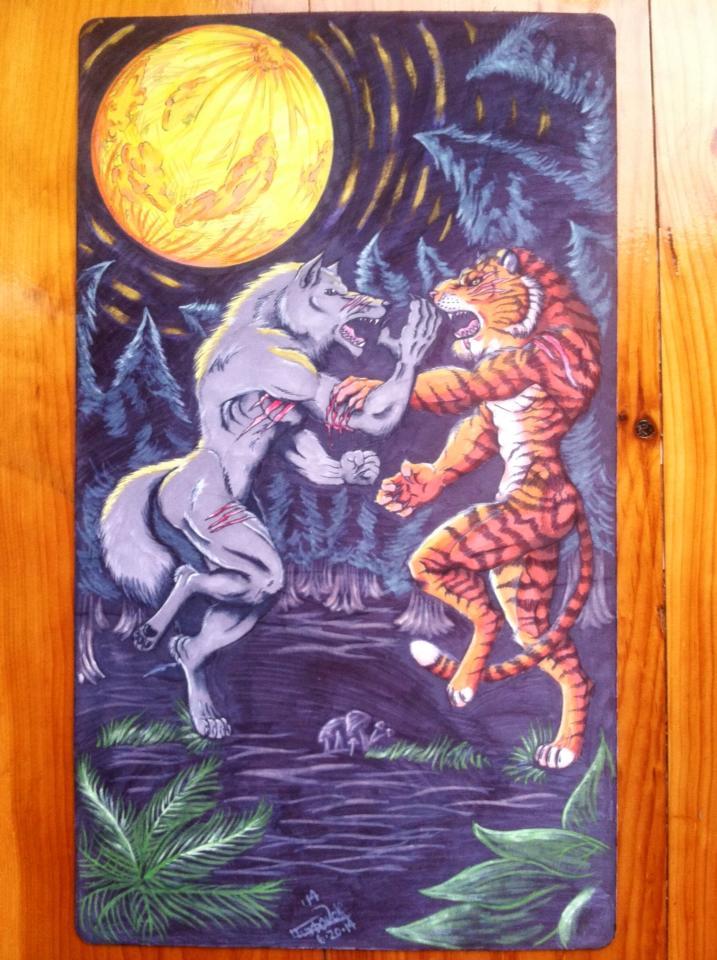 Werewolf vs weretiger - photo#9