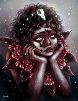 Angel of Flowers by JessicaPegoraro