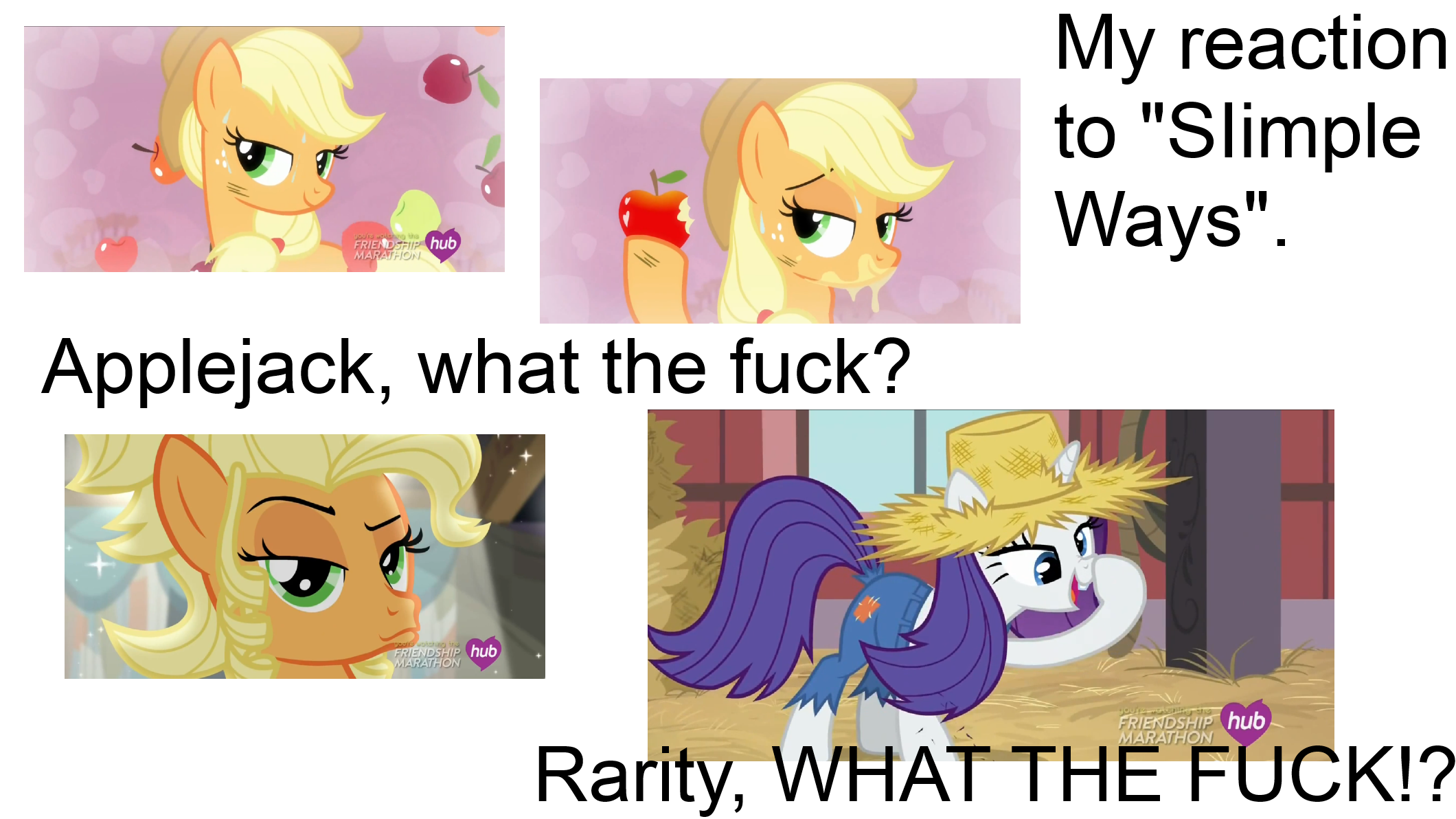 My reaction to MLP Simple Ways by Longsword97 on DeviantArt