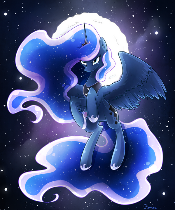 Princess of the night by Otkurzacz