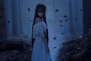 Magic forest by annastrelzov