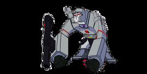 Bloxx as Megatron (Transformers G1)