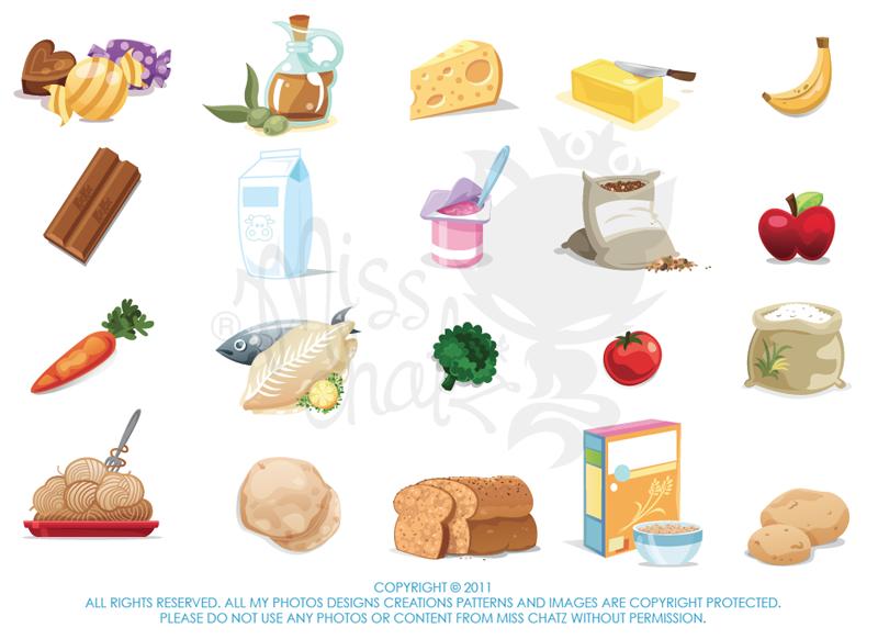 Food Pyramid by MissChatZ