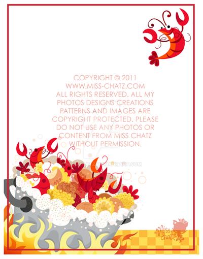 Crawfish Boil Invitation by MissChatZ on DeviantArt
