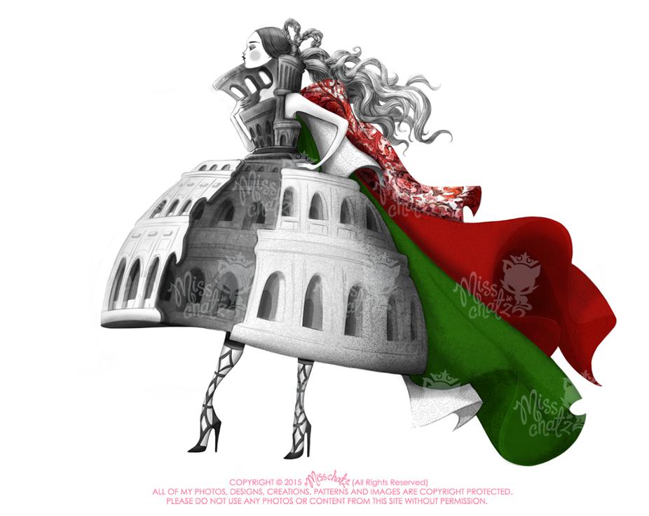 Rubaiyat Fashion Illustration