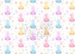 Seamless Easter Bunnies Pattern