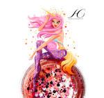 Hidden Cosmetics Pinup Illustration