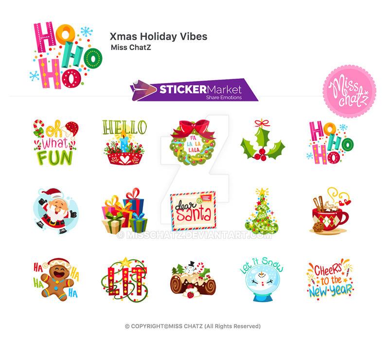 Xmas Holiday Vibes by MissChatZ