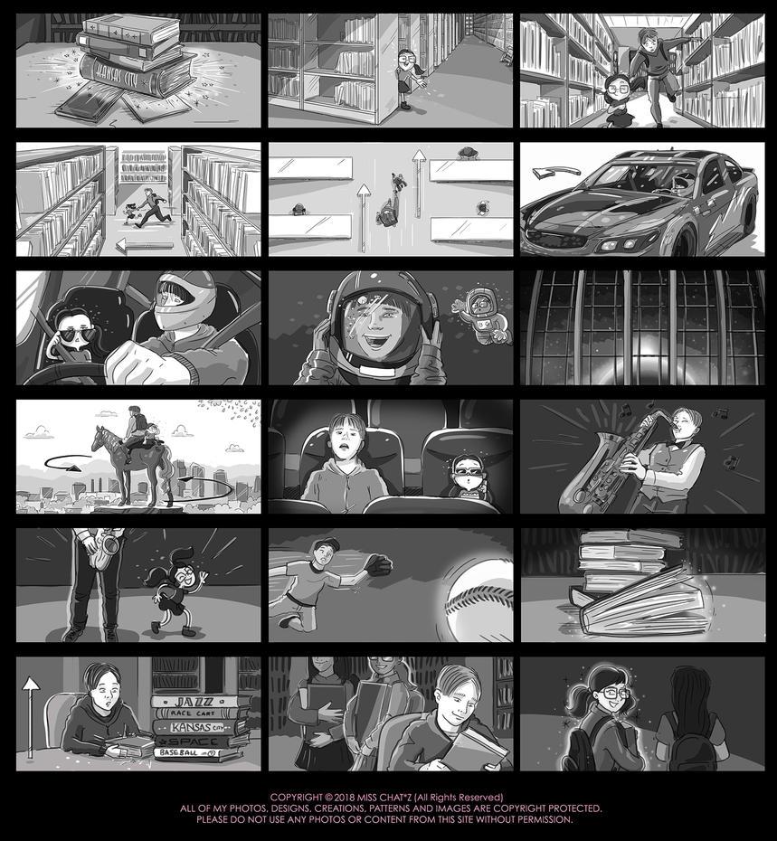 Kansas City Storyboard by MissChatZ