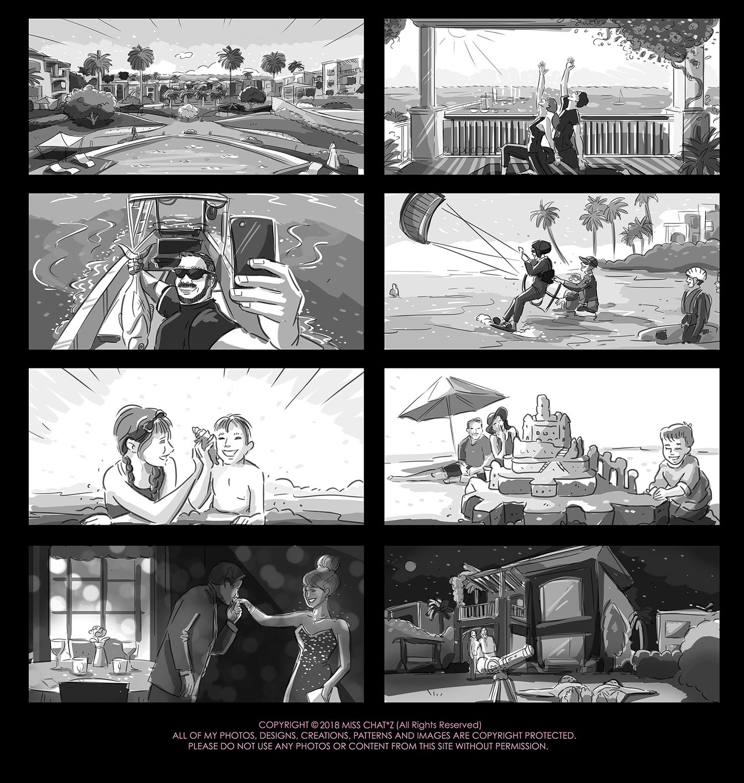 Laguna Bay Storyboard by MissChatZ