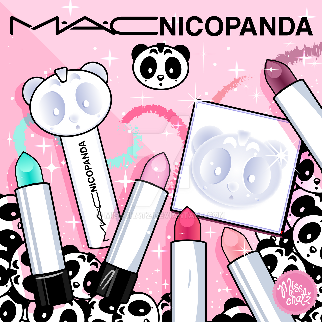 MAC Cosmetics NicoPanda by MissChatZ