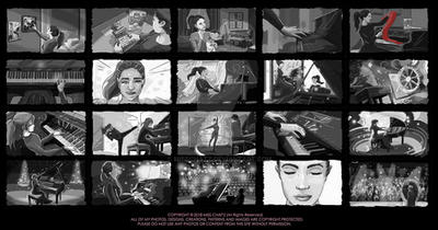 Piano Storyboard by MissChatZ