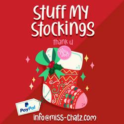 Stuff My Stocking MissChatz by MissChatZ