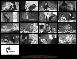 Meem Bank Storyboard by MissChatZ