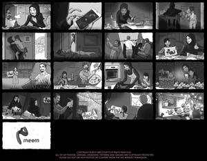 Meem Bank Storyboard