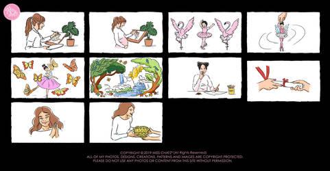 Mama Ballerina Storyboard