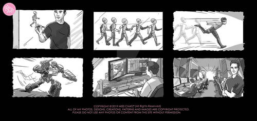 MiskAcademy Storyboard