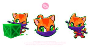 NGames NinjaCat Mascot