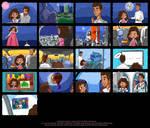 Astronaut Dreams Storyboard