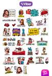 Severina Kojic Viber Stickers