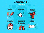 COVID 19 Symptoms Infographic by MissChatz