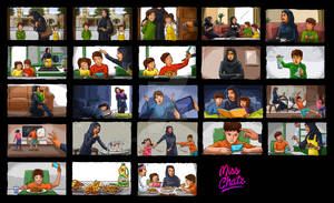 Ad Color Storyboarding