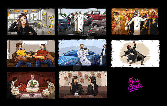 Quick Color Storyboard
