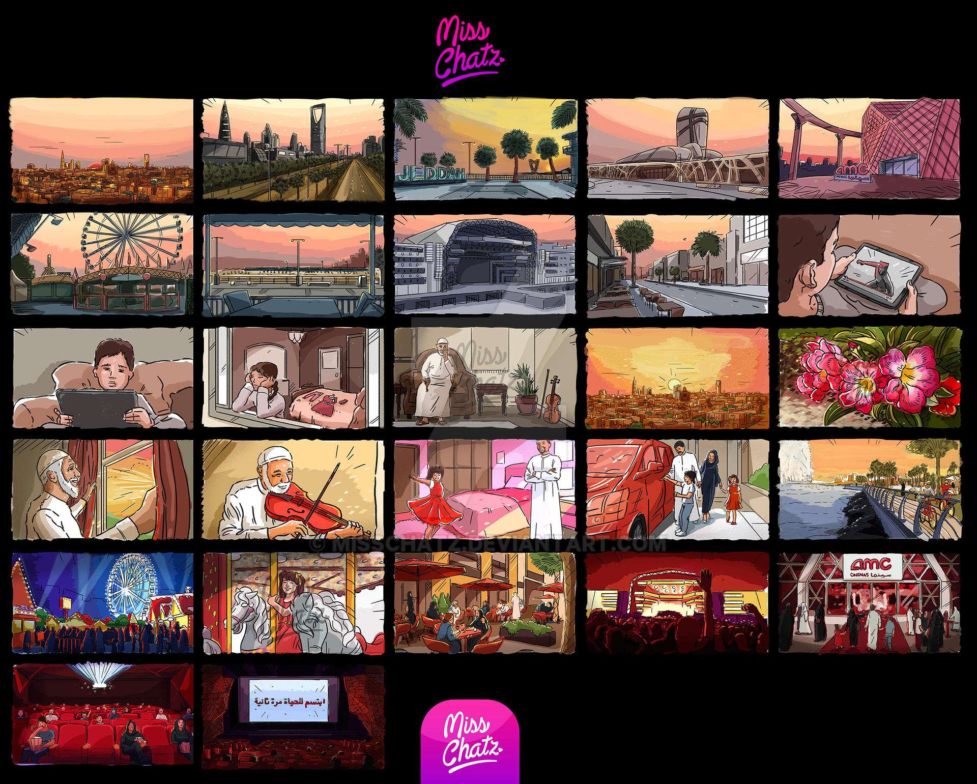 Colorful Art of Storyboarding