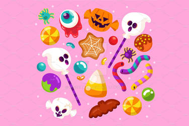Halloween Candy Collection 02