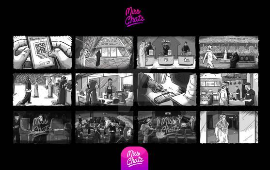 AMC Cinemas Storyboard