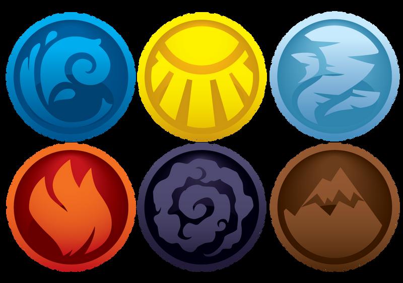 Element symbols by V-PK on DeviantArt
