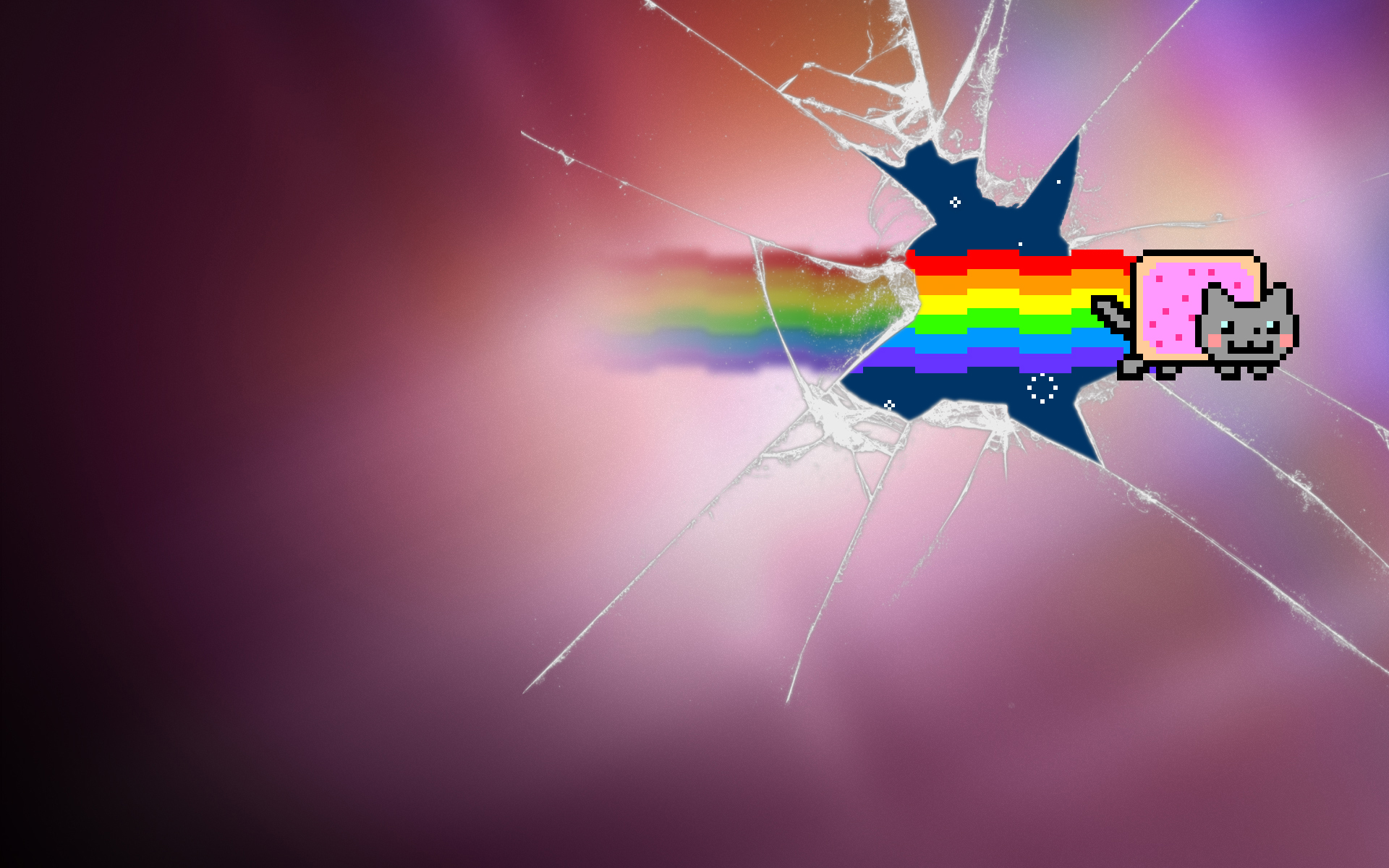 rainbow cat wallpapers - photo #5