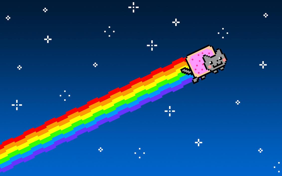Cat Meme Arc En Ciel