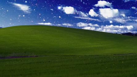 Night Time''Bliss'' XP Wallpaper