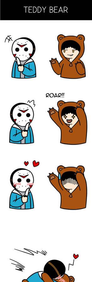VanossGaming x H2O Delirious Comic (Teddy Bear)