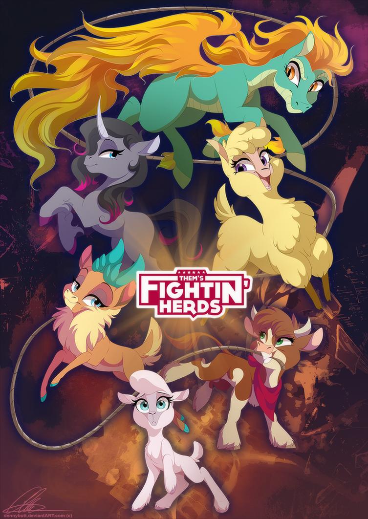 Them's Fightin' Herds by DVixie