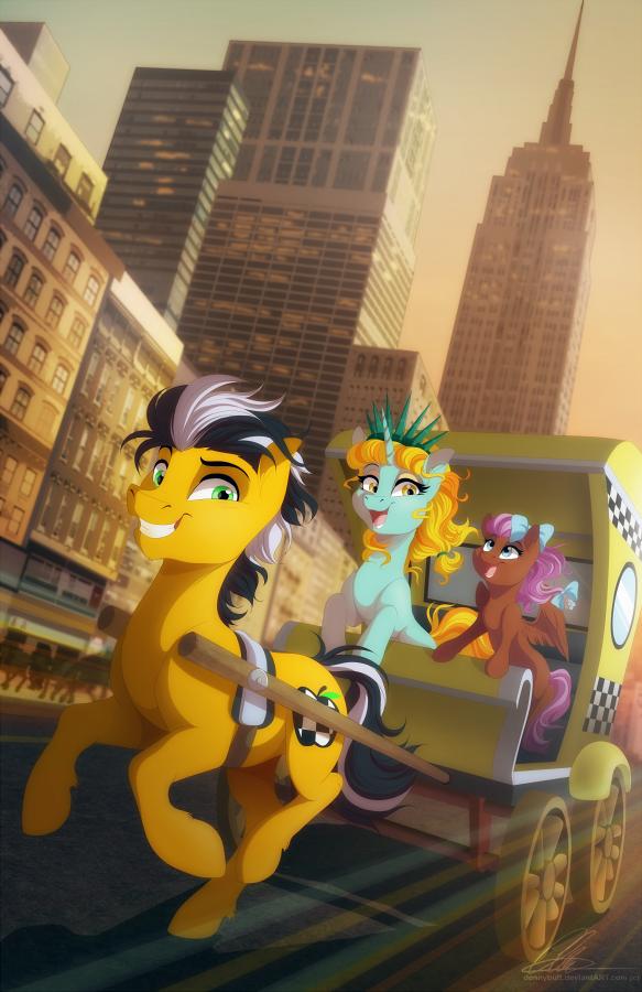 Ponycon NYC 2016 Poster