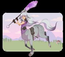 [commission] Junatessa the Centaur by DVixie