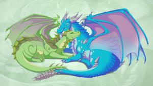 [commission] Ariesera and Mordenaku by DVixie